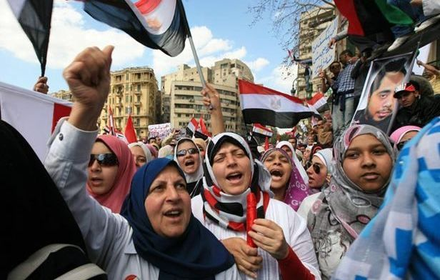 Women of the Arab Spring, 2011