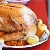 Turkey with Sage, Orange and Pistachio Stuffing
