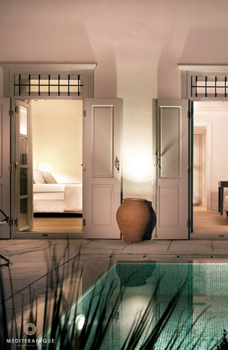 The luxurious Pool Suite at the Poseidonion Grand Hotel in Spetses, Greece