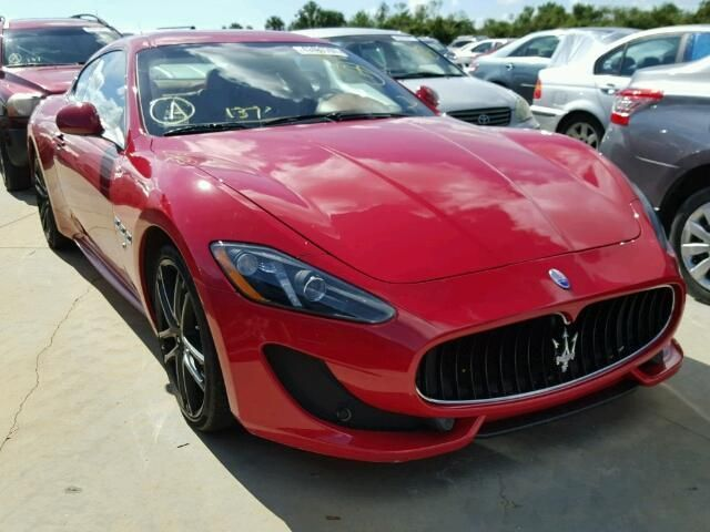 Salvage 2017 Maserati Granturismo S Coupe For Sale | Certificate Of Destruction Title