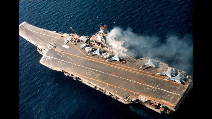 НАТО в шоке! Трактор с двигателем МиГ-15 на палубе «Адмирал Кузнецов»
