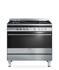 Freestanding Cookers - Fisher & Paykel's Freestanding Cookers are the showpiece of the kitchen and deliver outstanding performance. These are the domestic version of the professional chef's cooker, not only looking like they've come from a restaurant kitchen but also delivering similarly high performance.