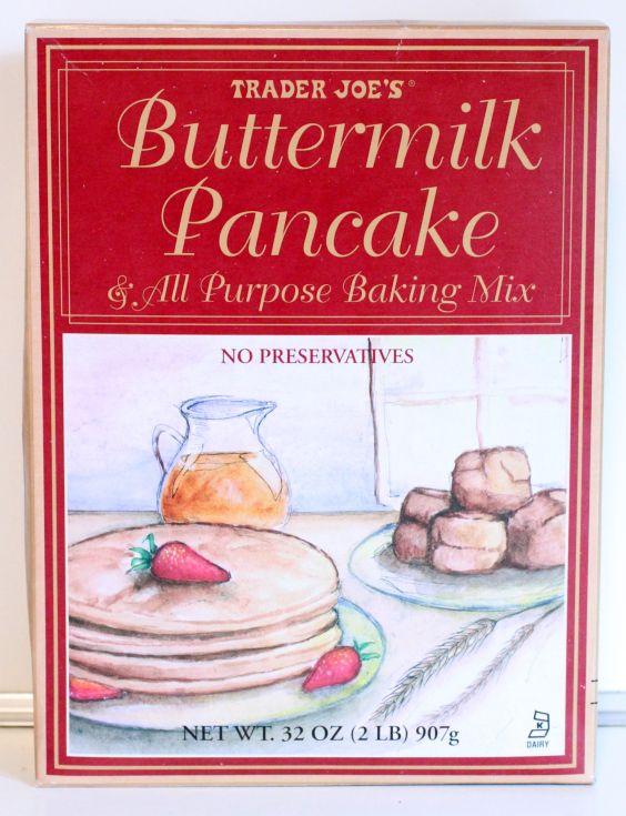 "#PINTERESTFAIL #REVIEW #TRADER JOES : Bacon Pancakes Using Trader Joes Buttermilk Pancake Mix and ""As Seen On TV"" Perfect Pancake Pan!"