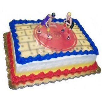 Wrestling Cake Graduation Cakes Pinterest Wrestling