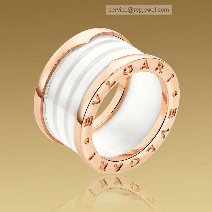 bzero1 18k rose yellow and white gold necklace