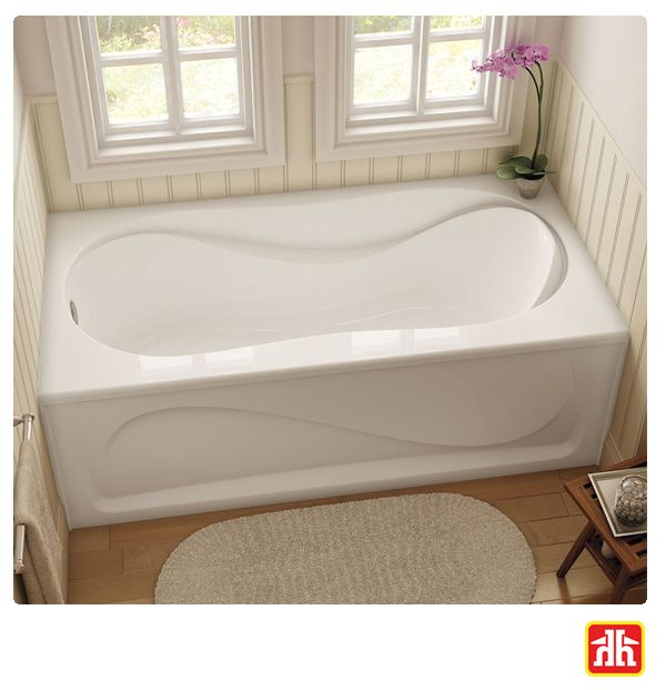 Make the bathroom your favourite room in your home by adding a soaker tub.