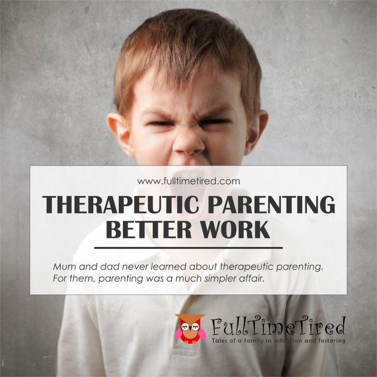 Mum and dad never learned about therapeutic parenting. For them, parenting was a much simpler affair.