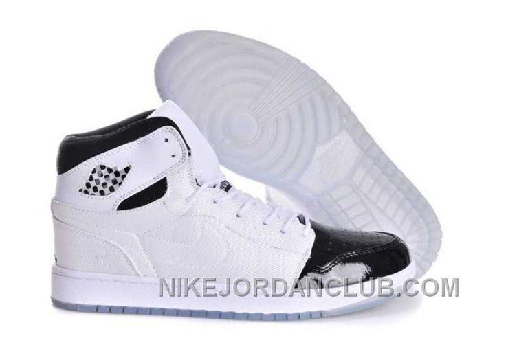 Nike Air Jordan 1 Mens Retro 95 White Black Dark Concord Shoes DcW5Z