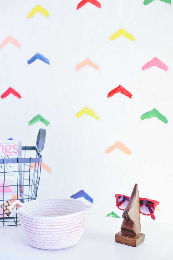 How to make your own wall paper. Easy tutorial by A Subtle Revelry