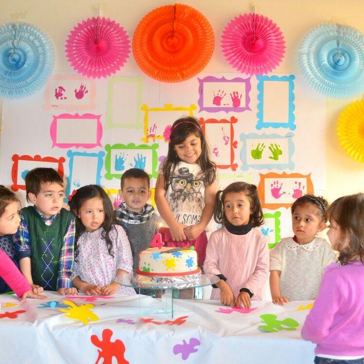 Art theme party.