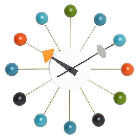 Buy Vitra Ball Clock Online at johnlewis.com