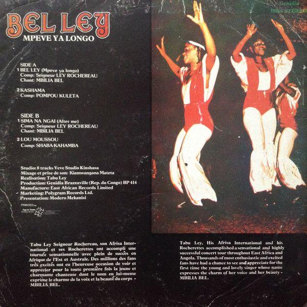 Tabu Ley Seigneur Rochereau* & Orchestre Afrisa* - Belley (Mpeve Ya Longo): buy LP, Album at Discogs