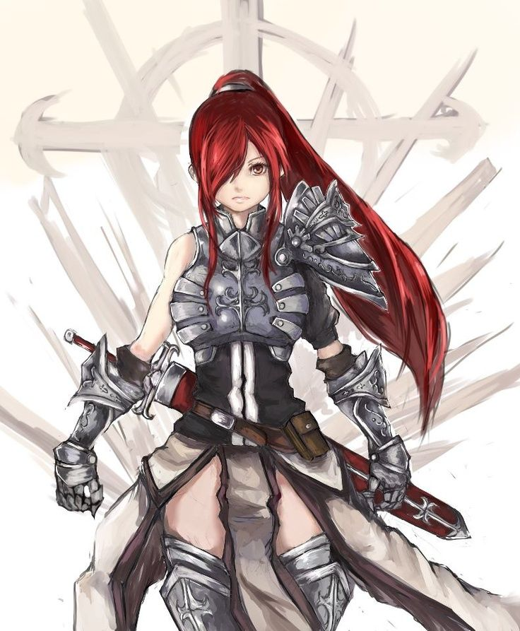 fairy tail anime erza - Google Search
