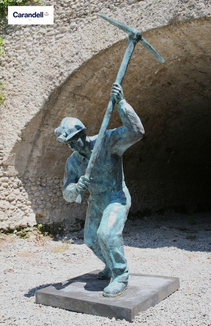 Minero  #escultura #CarandellArt #Minero