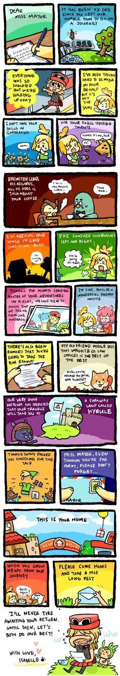 You can always go back to animal crossing