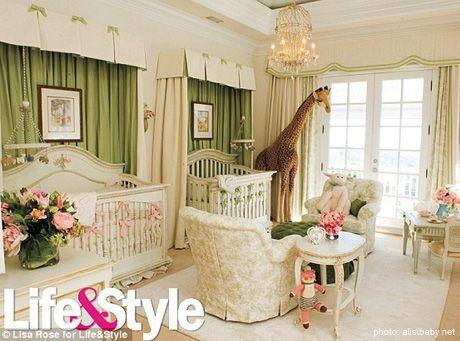 Celebrity Nursery ~ Mariah Carey & Nick Cannon's Twins
