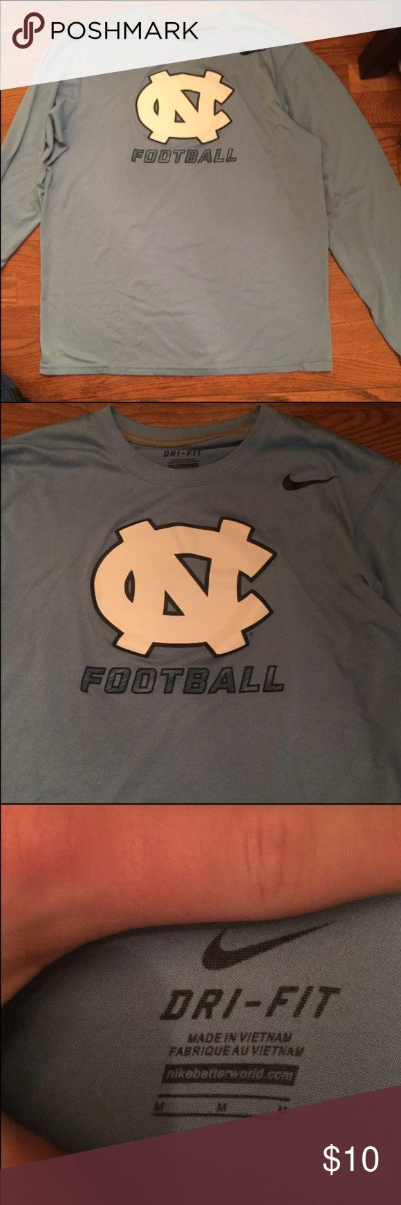 Nike Dri-Fit North Carolina long sleeve T-Shirt Nike Dri-Fit North Carolina long sleeve T-Shirt  Size: Medium  Team: North Carolina (UNC) Nike Shirts Tees - Long Sleeve