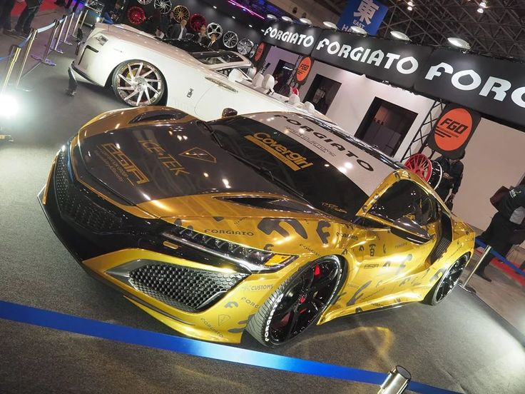 Real eye-candy spotted at the Tokyo Auto Salon​ 2017. Chester Ng​.