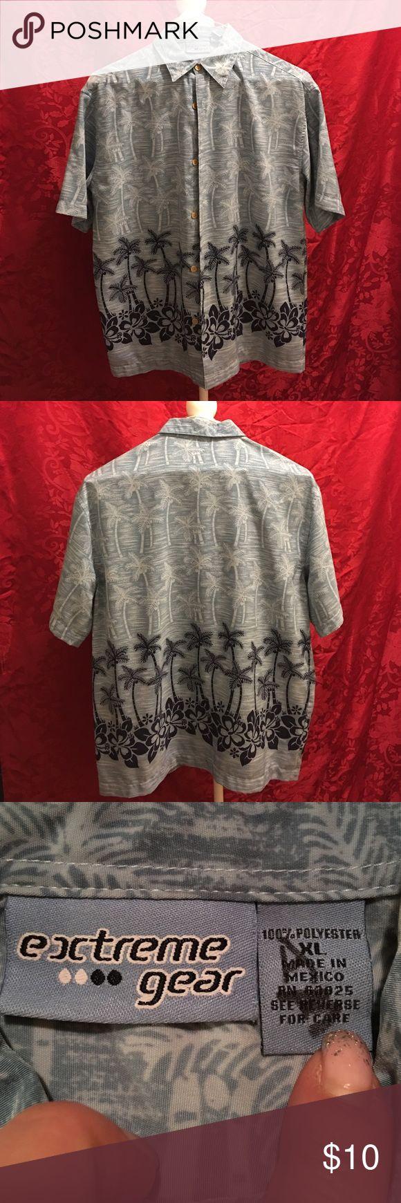 Boys Hawaiian shirt Boys Hawaiian shirt. Hundred percent polyester. No trade/no PayPal. 10% bundle discount. Extreme Gear Shirts & Tops Button Down Shirts