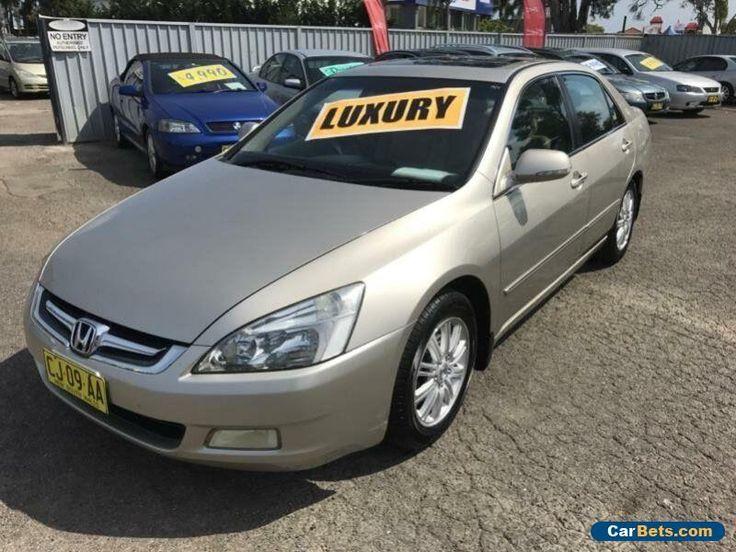 2006 Honda Accord 40 V6 Luxury Gold Automatic 5sp A Sedan #honda #accord #forsale #australia