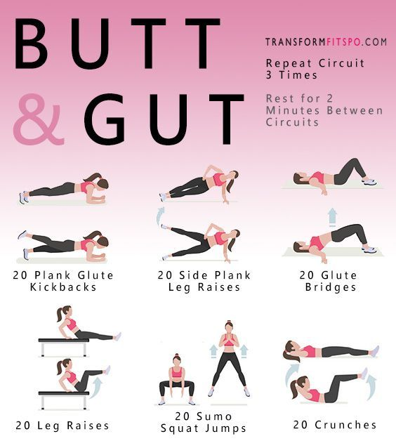 Abs Fitness Butt And Gut Workout For Women  Fitness -8672