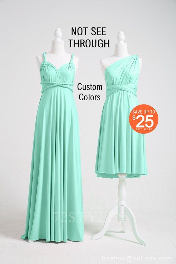 Grint mint infinity dress Grint mint convertible dress Grint mint bridesmaid dress Grint mint Bridesmaid dress Grint mint multiway dress