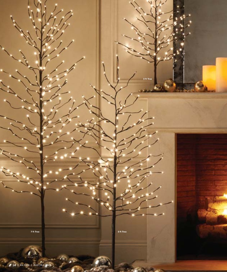 Christmas Trees Restoration Hardware Killer Xmas Style Pinterest Christmas Trees One