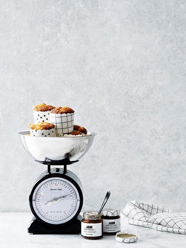 Nicolas Vahé Muffin Papierförmchen in zwei Designs