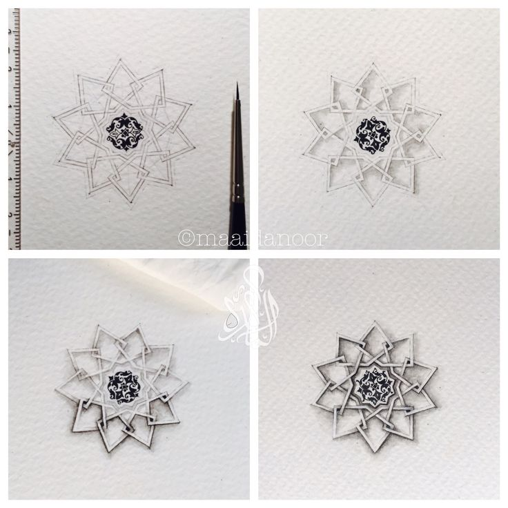 Islamic geometry- miniature