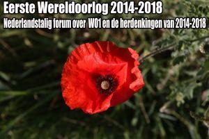 Forum over de Eerste Wereldoorlog 2014-2018