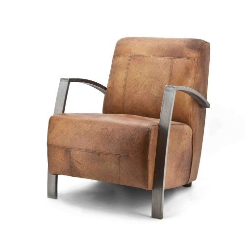 gunther-fauteuil-eleonora-vintage-retro-rosi-leer-leder-cognac