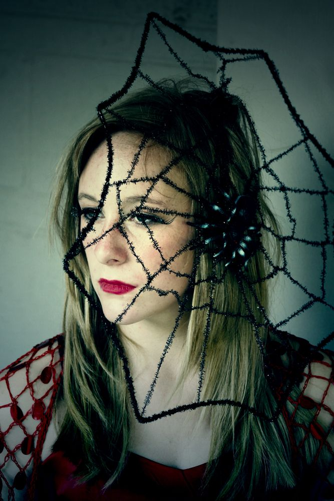 spiderweb hat