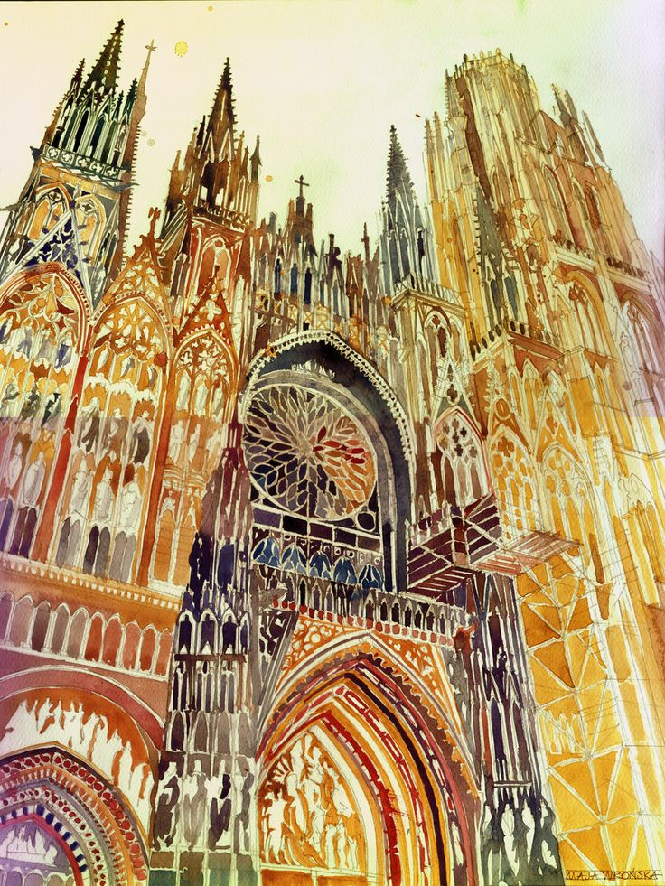 Rouen by takmaj.deviantart.com on @deviantART
