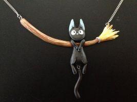 Jiji Necklace by Gatobob