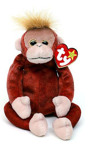 Schweetheart - orangutan - Ty Beanie Babies
