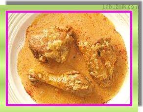 Kuře na paprice v pomalém hrnci