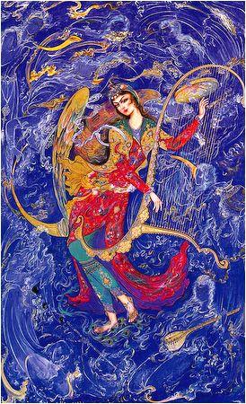 Mahmoud Farshchian, Persian miniature painting