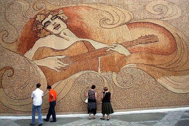 Saimir Strati: majster mozaiky - Výtvarné umenie - Umenie | Hobby portál