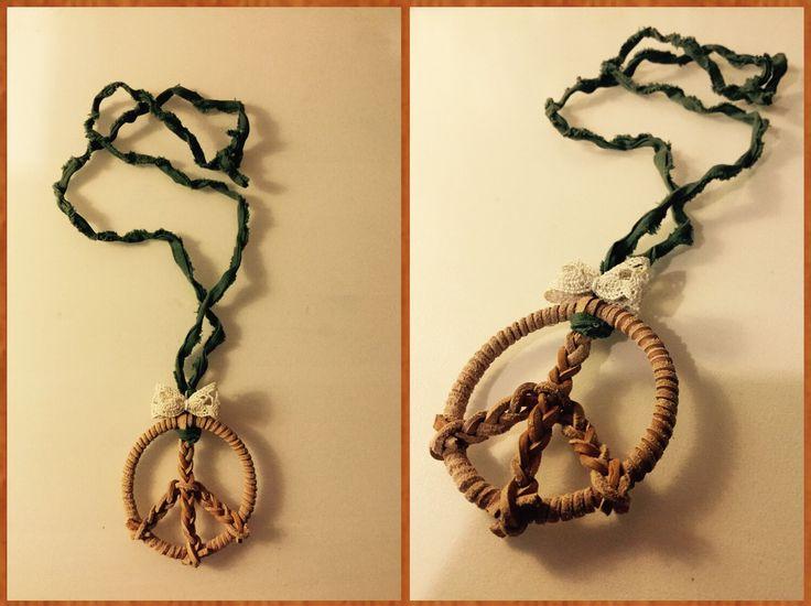 Piece necklace - ribbon