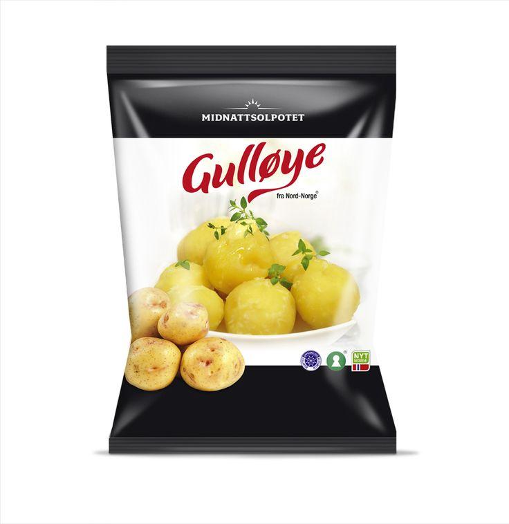 Gulløye potetpose
