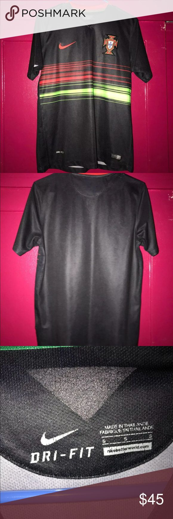 Nike Portugal Dri-FIT Jersey New, no tags. Never been worn. Nike Shirts Tees - Short Sleeve