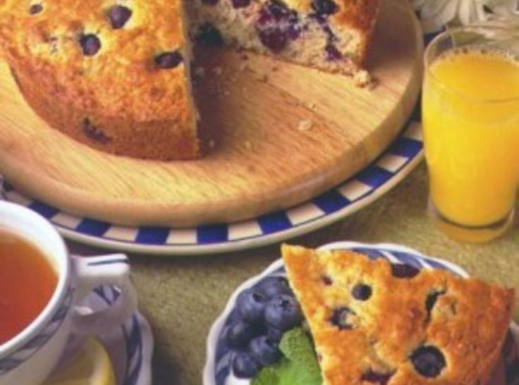 Blueberry Oatmeal Breakfast Cake | Recipes | Pinterest