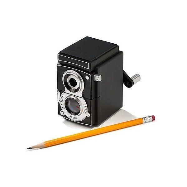 Camera Pencil Sharpener Vintage Style By Kikkerland