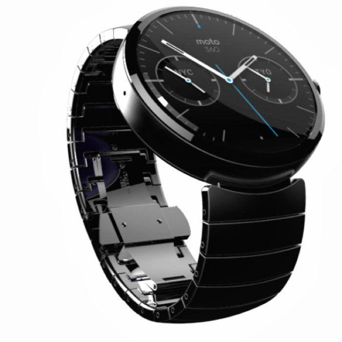 Motorola Moto 360 Smartwatch Announced