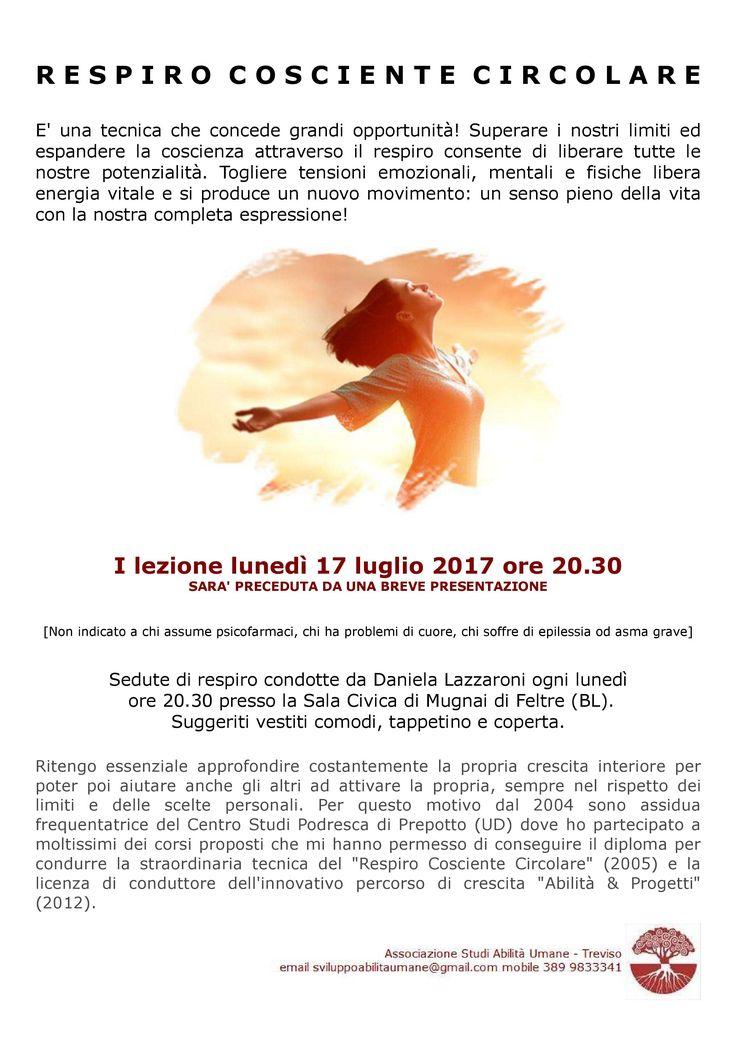A+FELTRE+IL+17+LUGLIO+2017+ORE+20.30+CONTINUA+IL++RESPIRO+COSCIENTE+CIRCOLARE