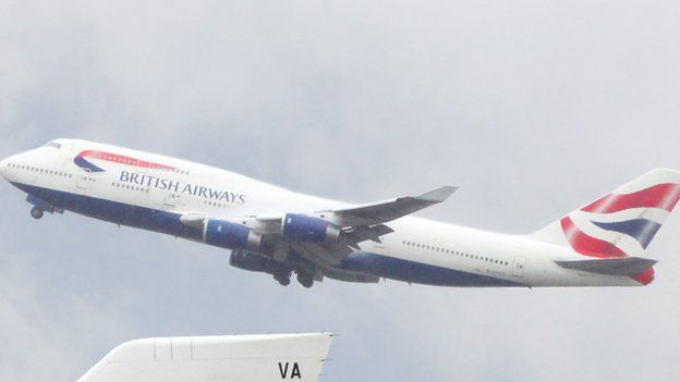 BA flight forced to land early because of smelly poo