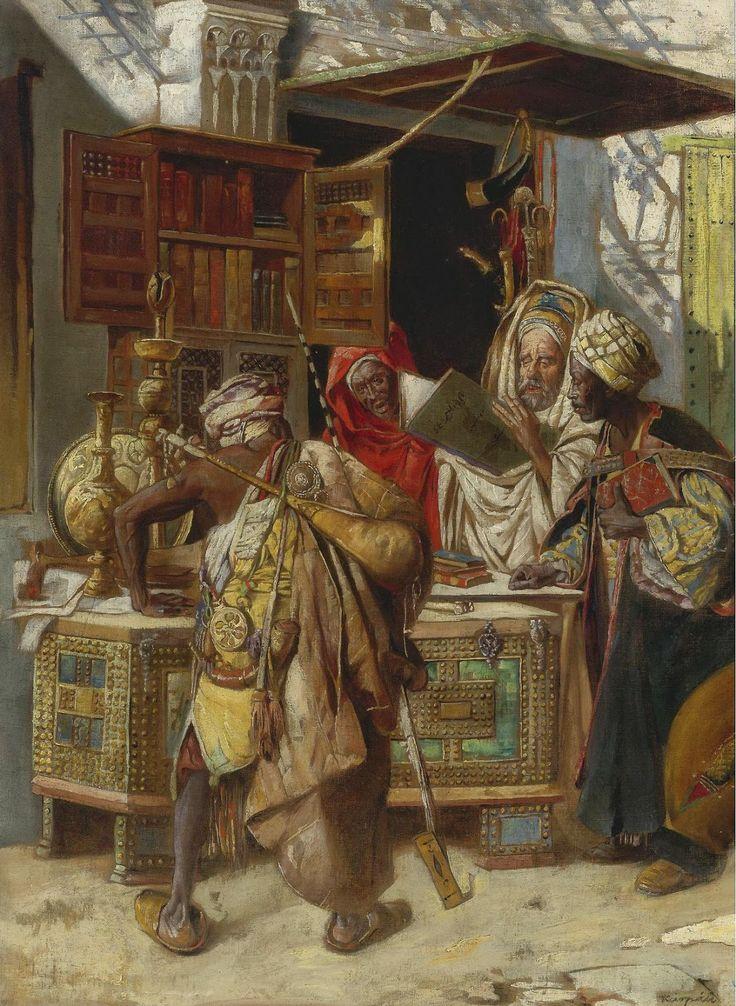 Gyula Tornai - En el bazar