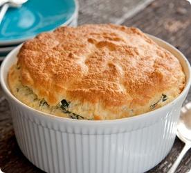 Spinach Souffles   Recipes   Pinterest