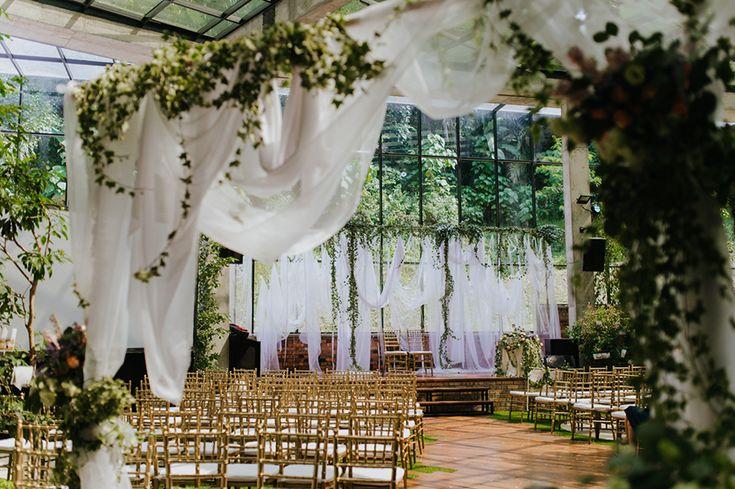 Garden of Eden: Joshua and Tiffanie's Wedding at Glasshouse at Seputeh