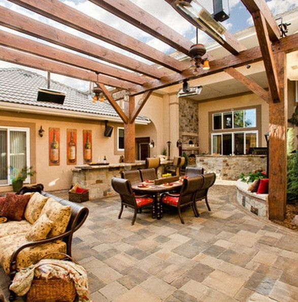 Patio Ideas For Backyard Ideas For The House Pinterest